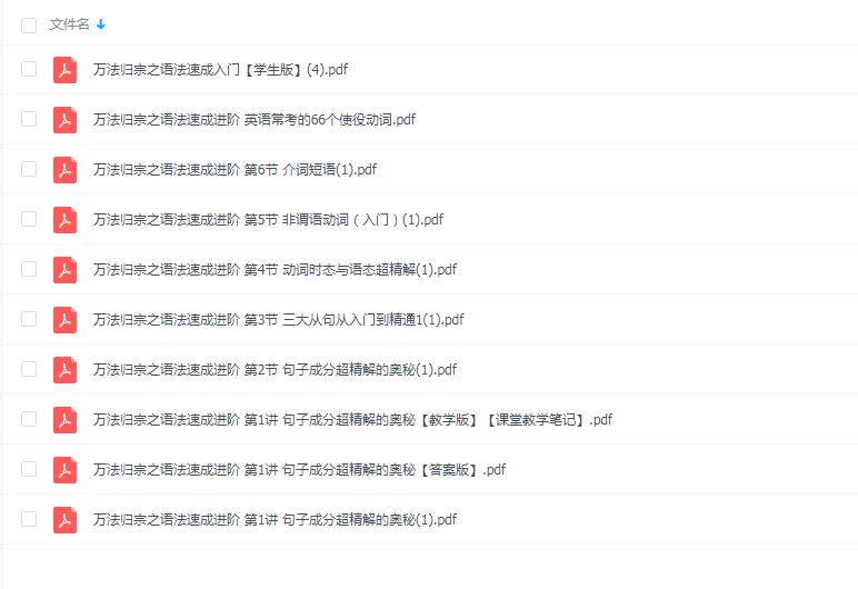 宋维钢万法归宗之英语语法速成全集视频课程+讲义百度云网盘下载  评论  11,155 A+ 所属分类:语言学霸