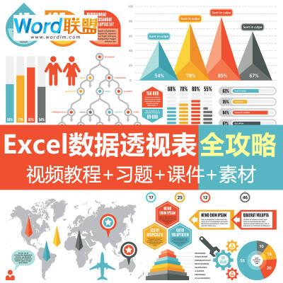 【Excel数据透视表全攻略】全套共60课