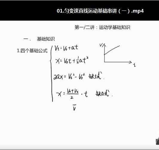 李玮高中物理逆袭班全套视频资源百度云网盘下载
