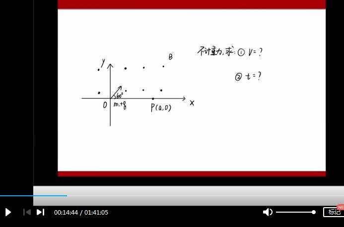 李玮2020高考物理100天冲刺磁场专题精讲网课视频