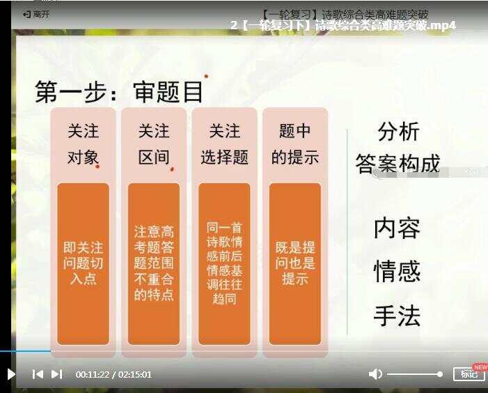 段丽娜2020高三语文秋季清北班视频课程百度云下载