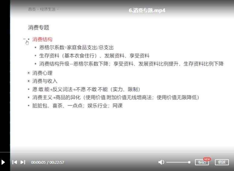 刘勖雯政治专题精讲视频大合集下载